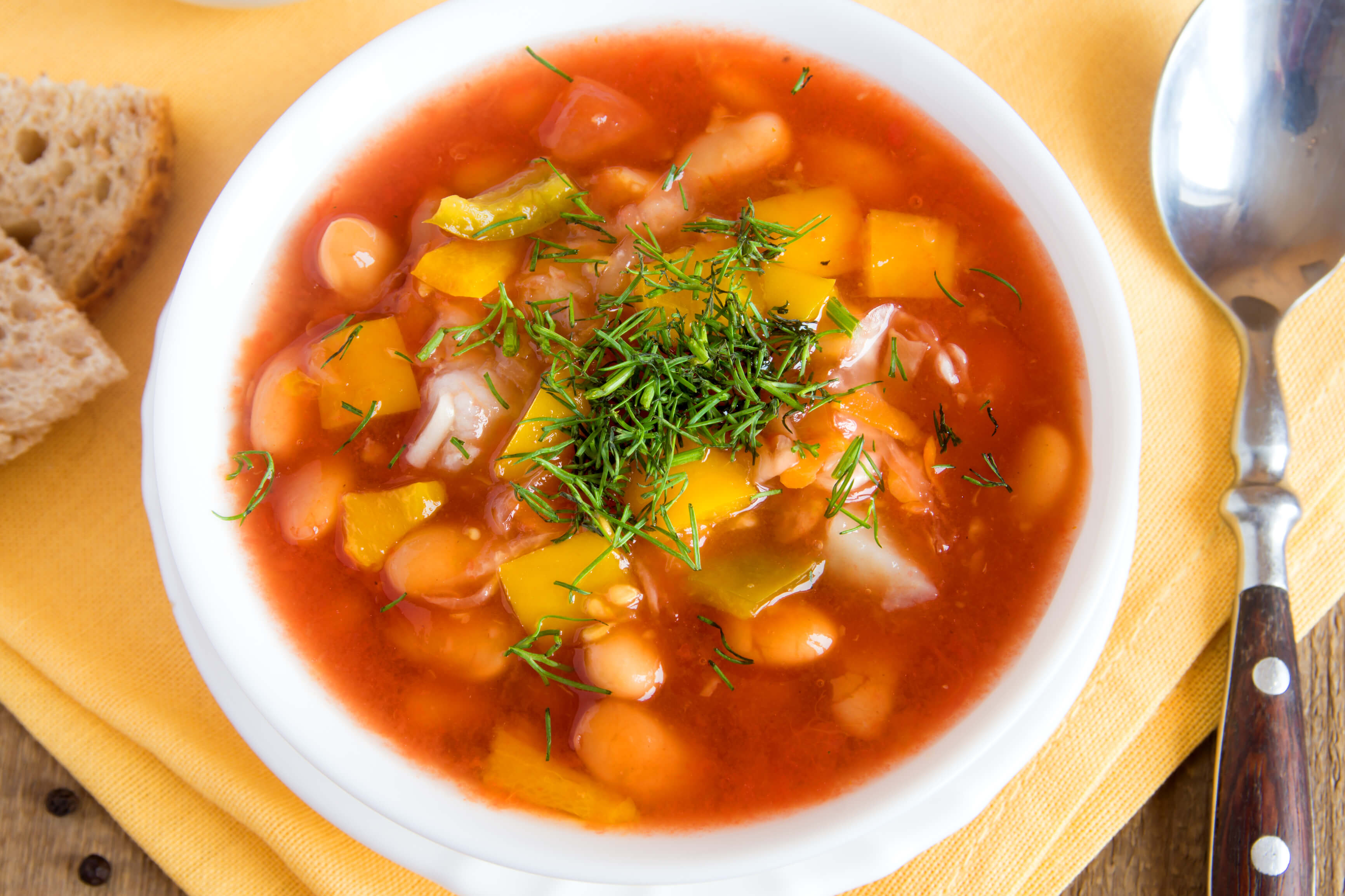 White Bean Soup – Η ταπεινή Φασολάδα!