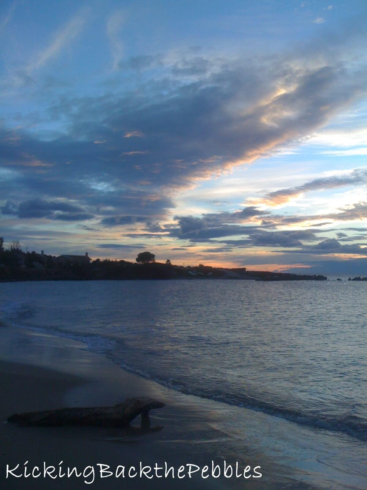 Winter Beaches |Kicking Back the Pebbles