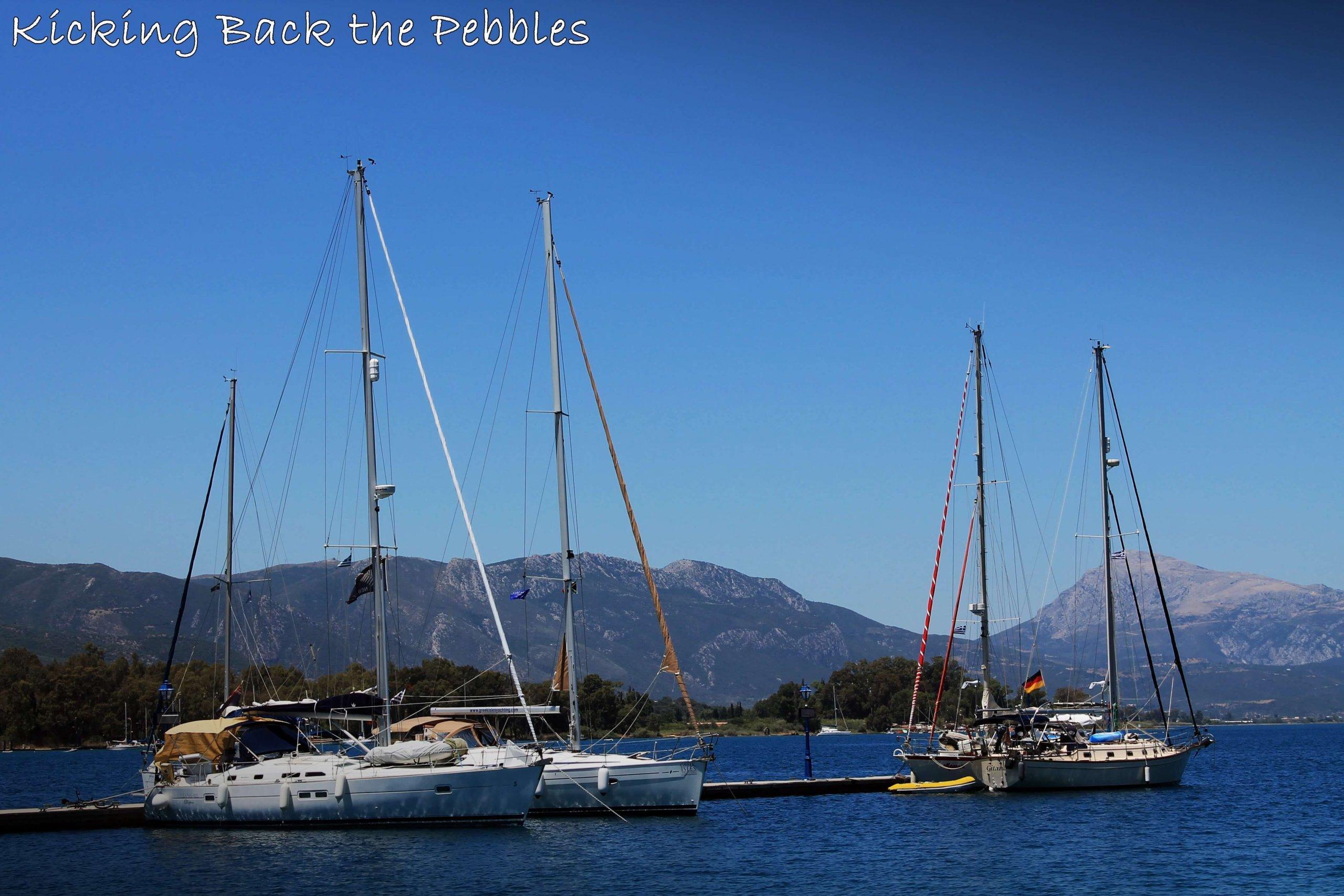 Poros Island | Kicking Back the Pebbles