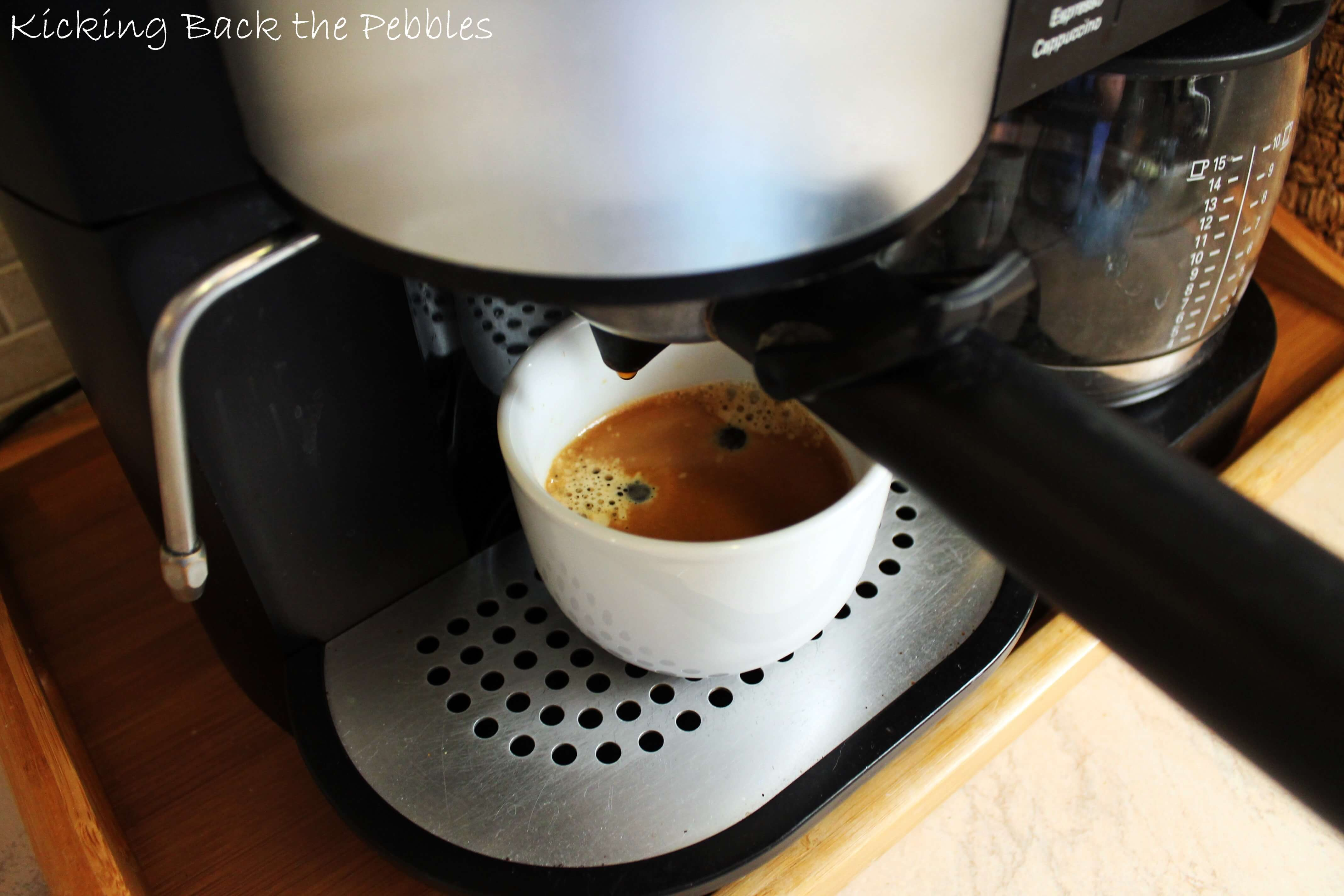 Espresso machine | Kicking Back the Pebbles