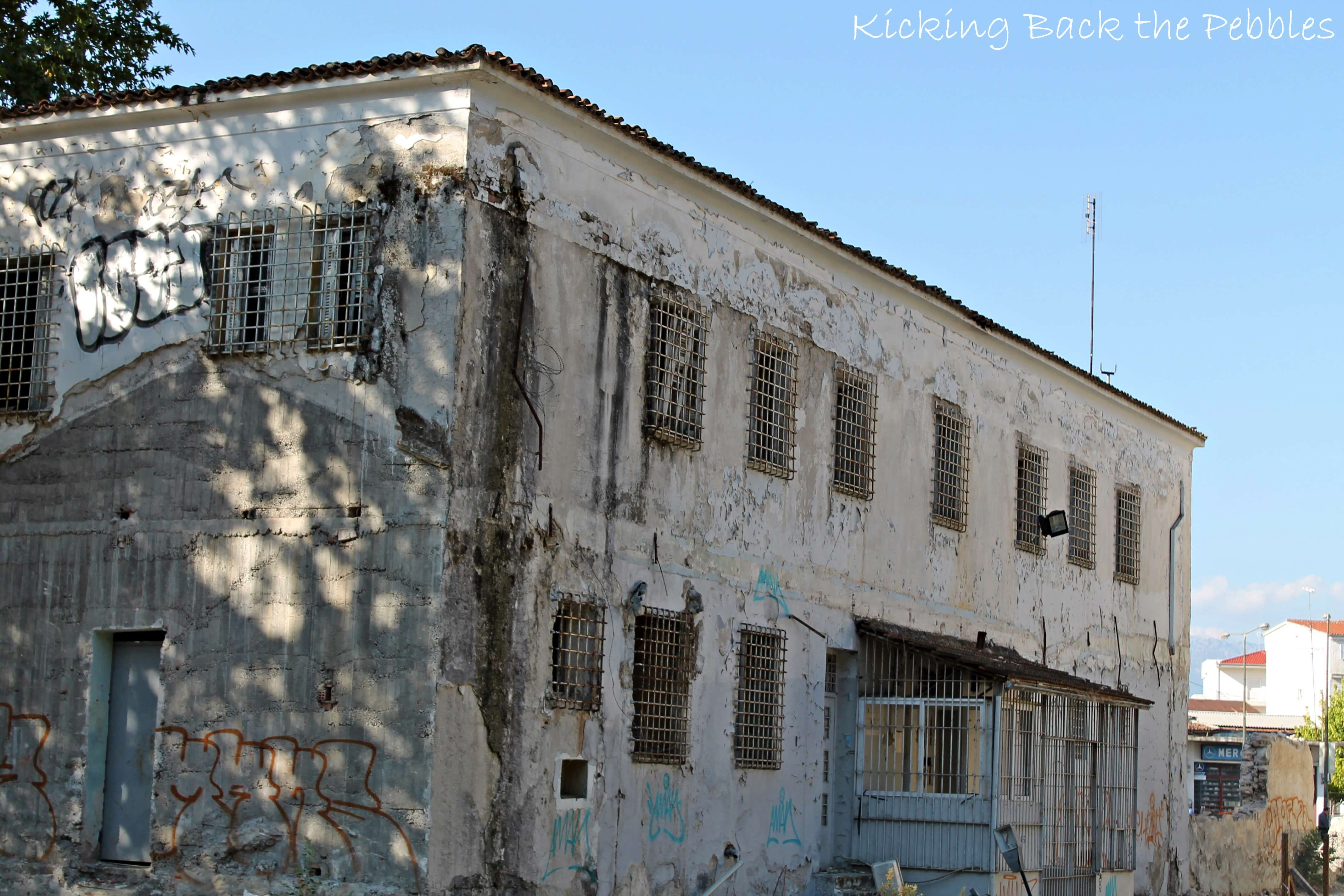 Old Prison building - Trikala, Thessaly | Kicking Back the Pebbles