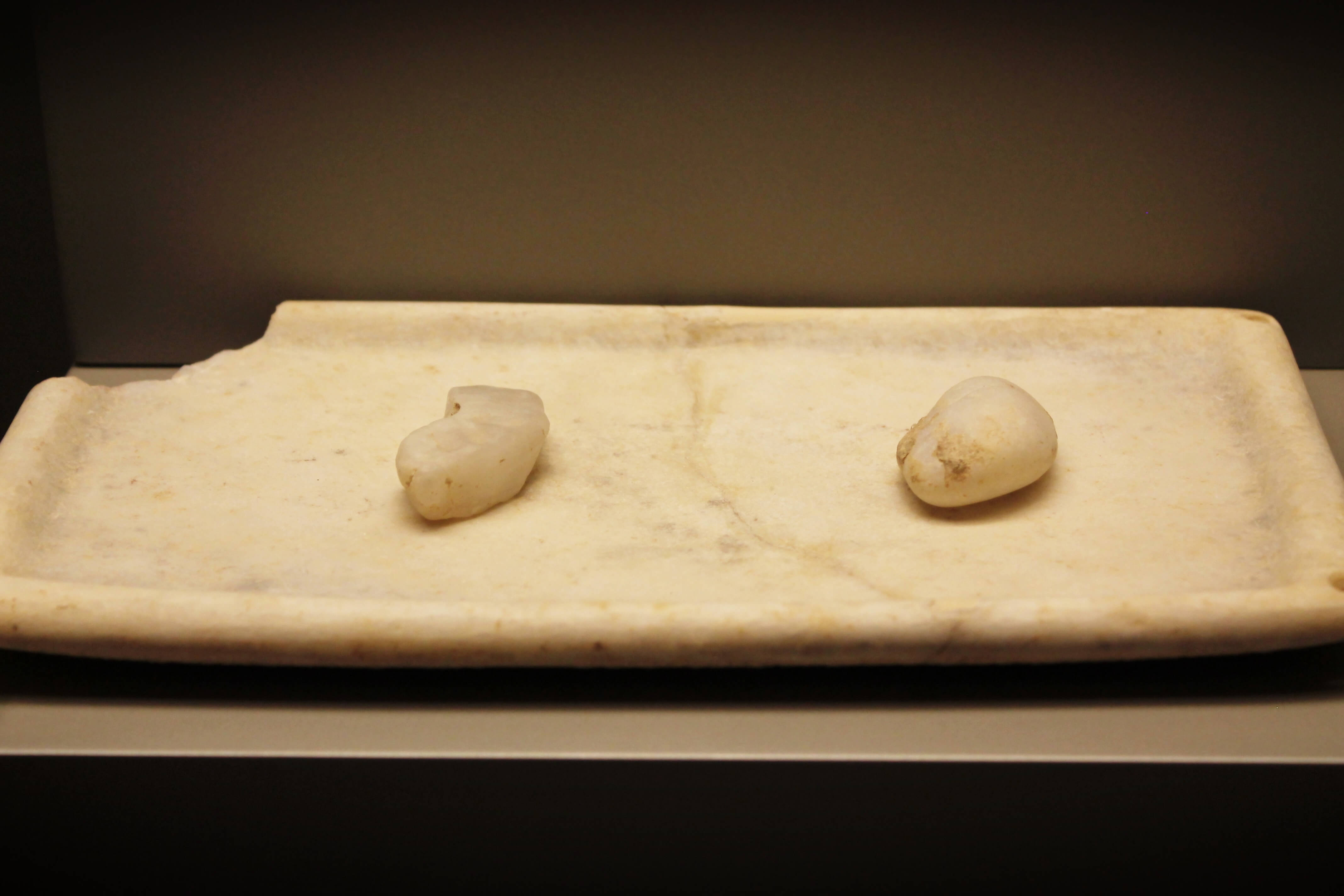 National Archaeological Museum of Athens - Kicking Back the Pebbles