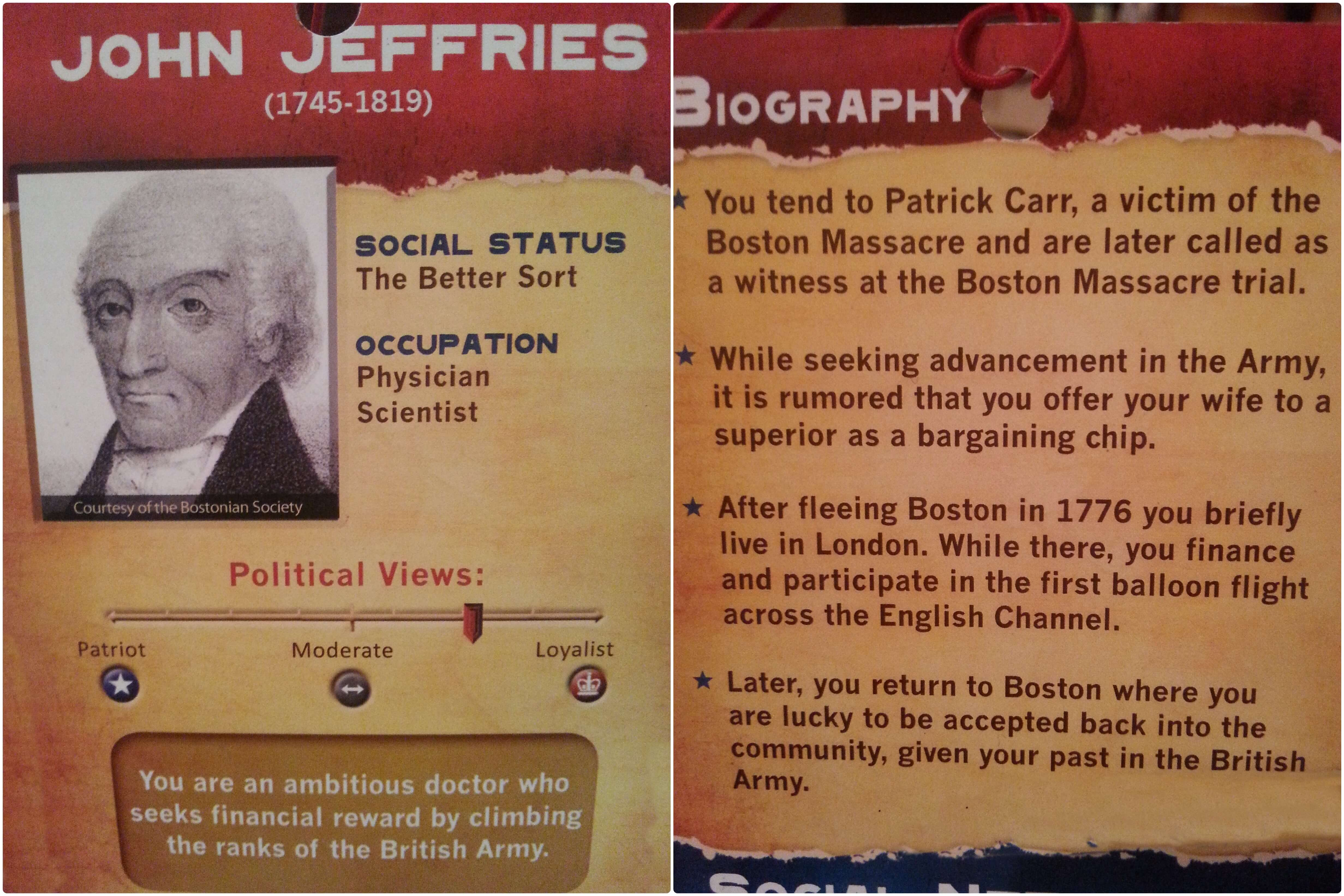 The Old State House – Boston's Revolutionary Museum – Revolutionary Characters
