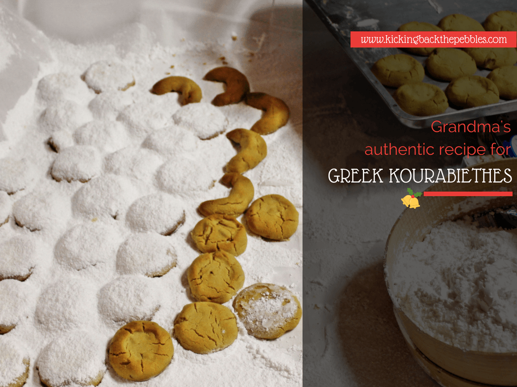 Kourabiedes | Kicking Back the Pebbles