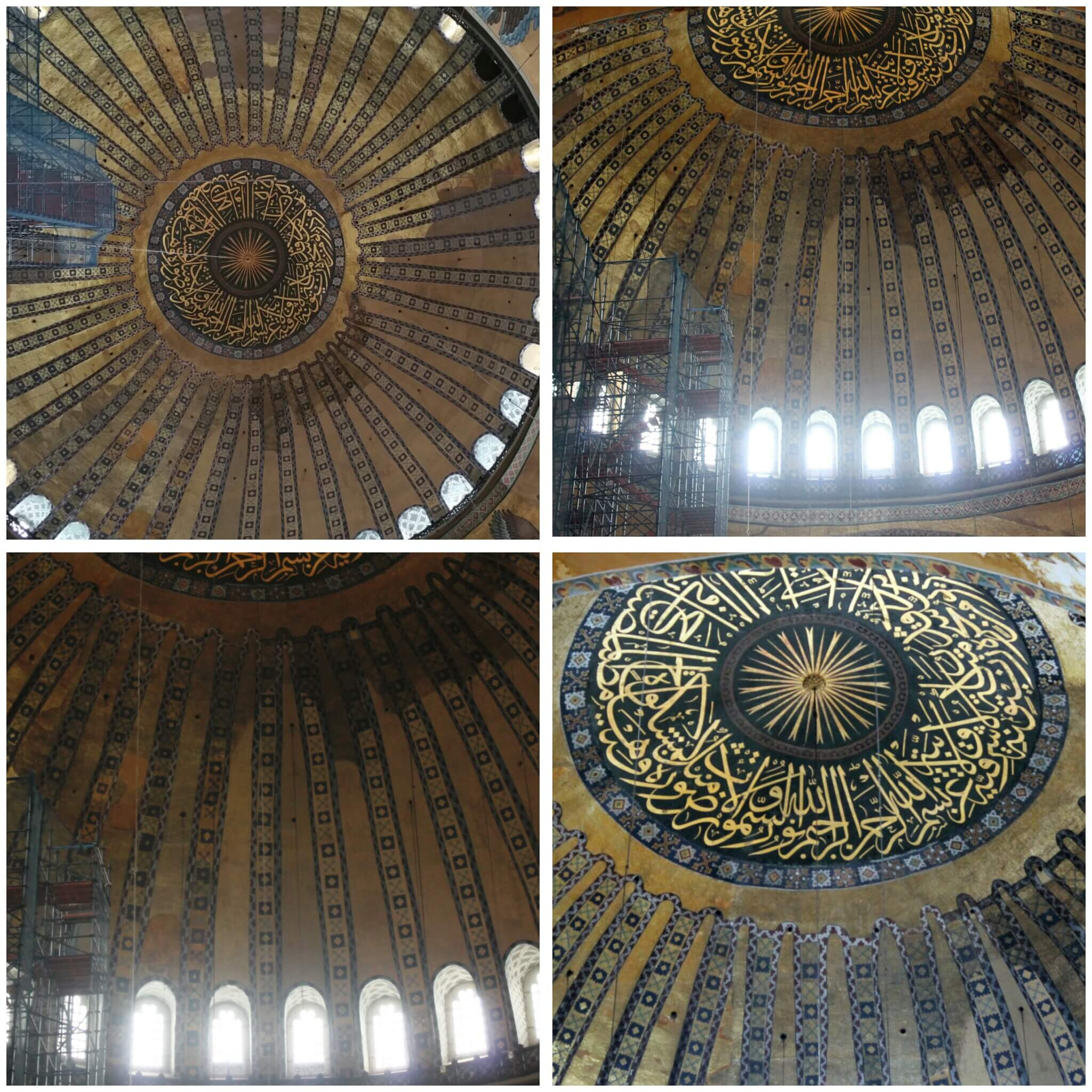 Hagia Sophia_the Dome