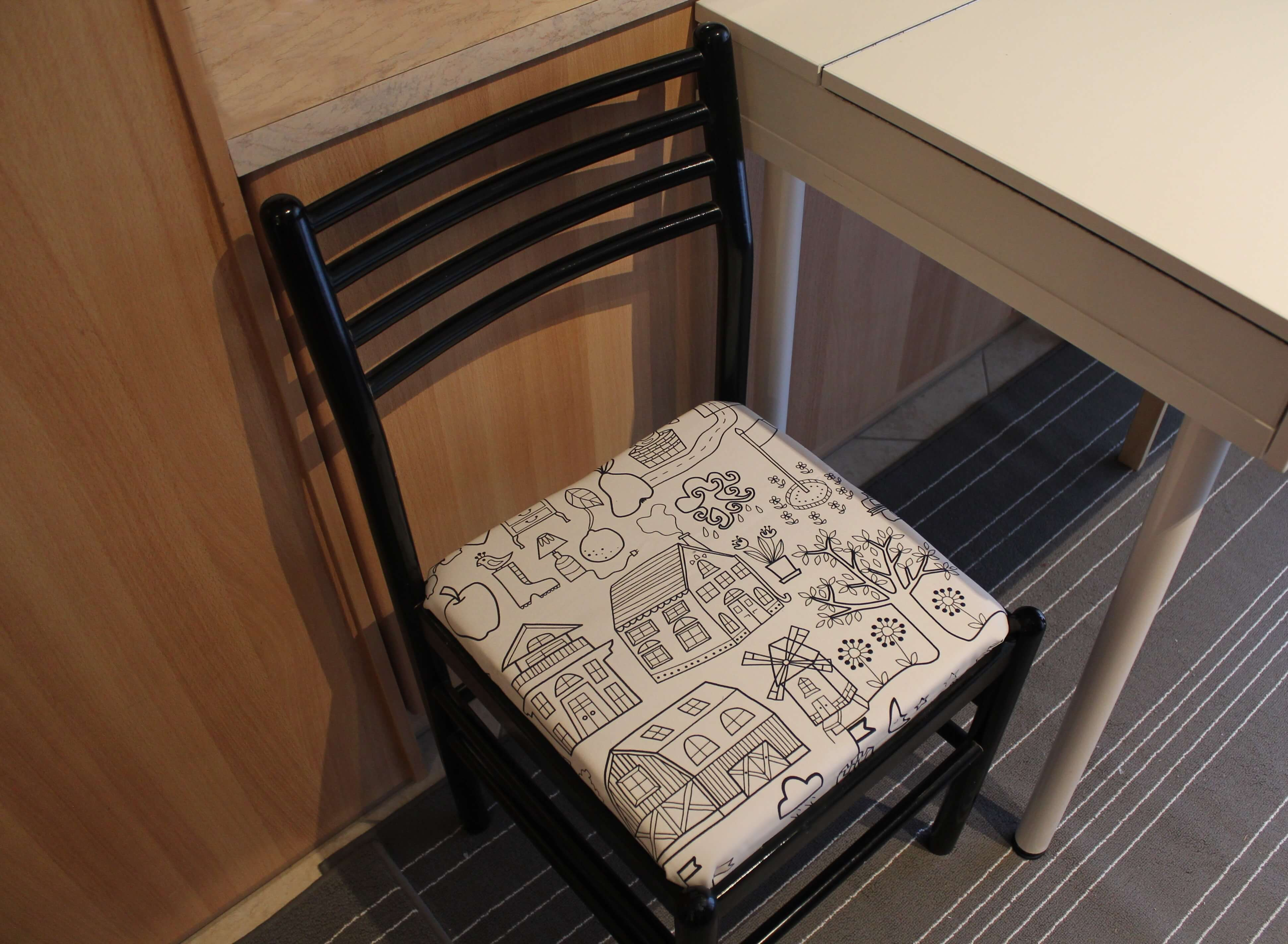 Chair-upholstering do's and don'ts | Kicking Back the Pebbles