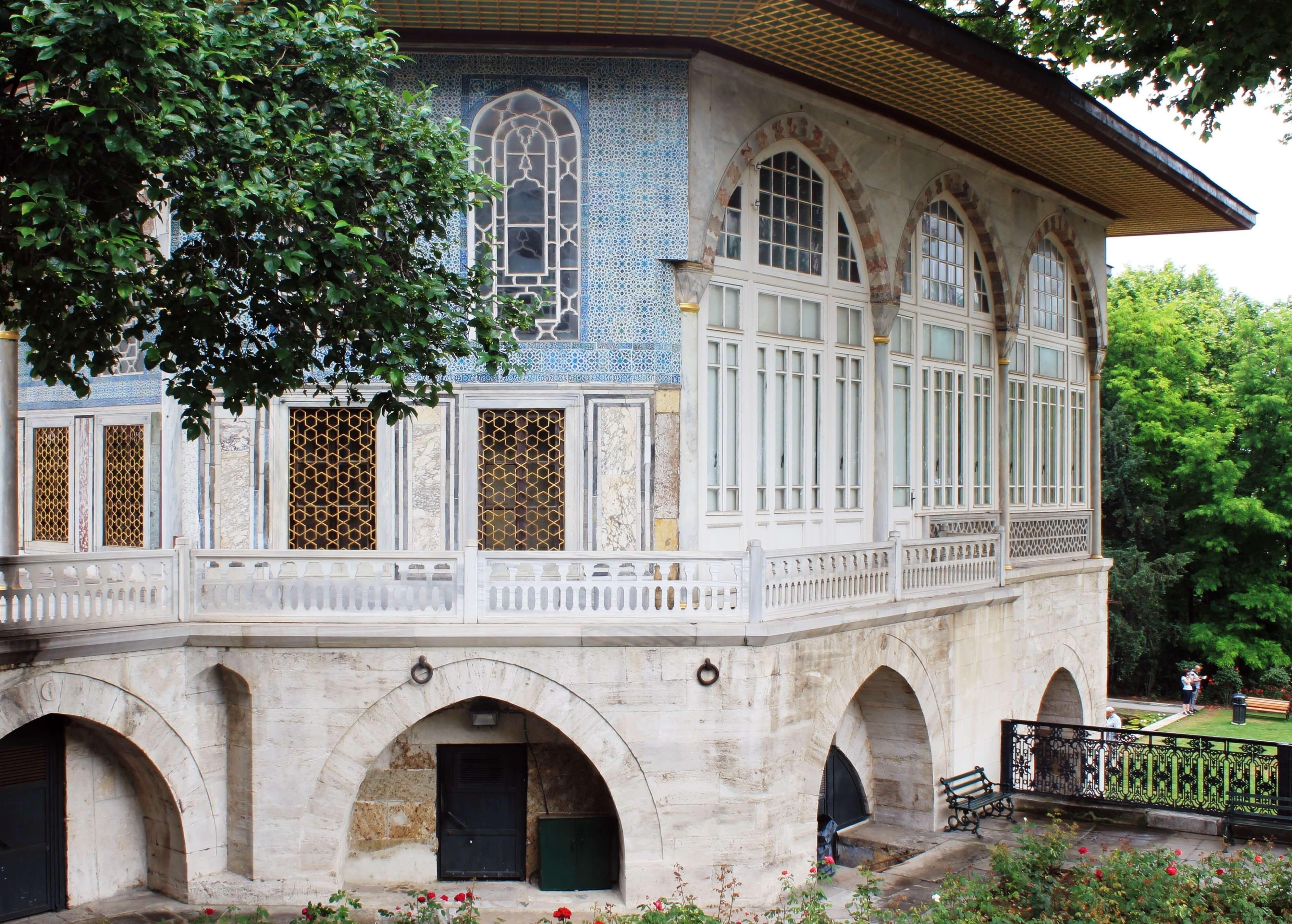The Baghdad Pavilion_Topkapi 4th Courtyard
