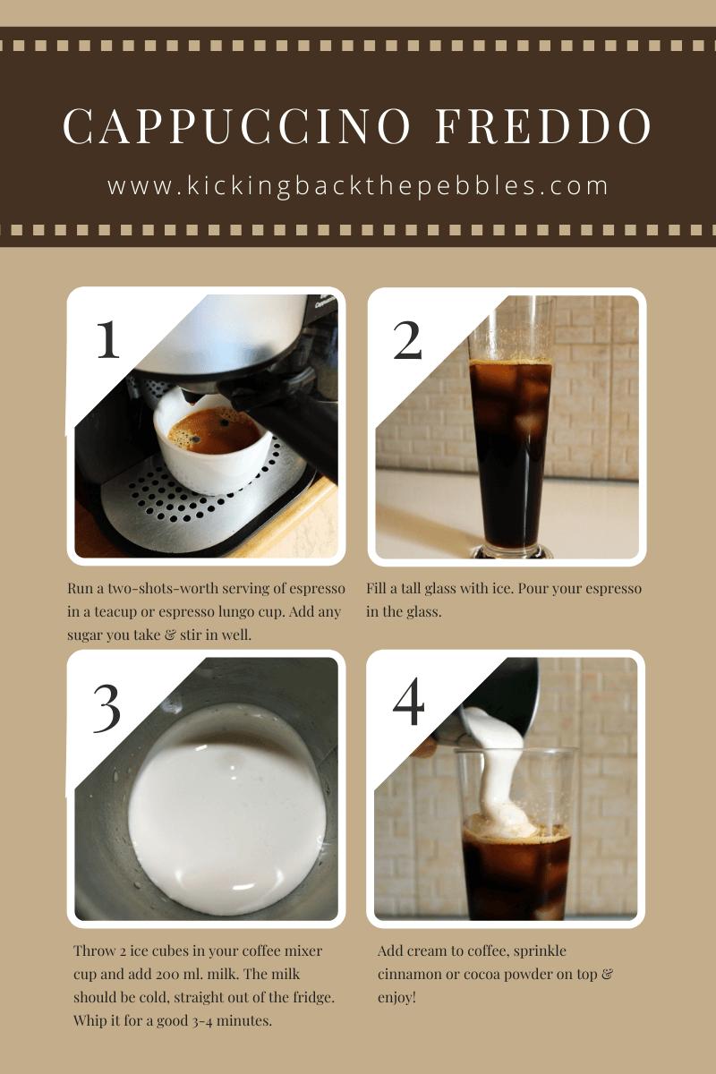 Cappuccino Freddo | Kicking Back the Pebbles