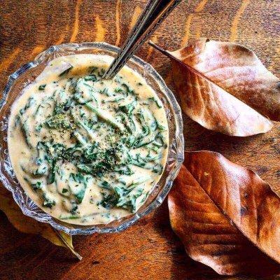 Creamed Spinach @Kouzounas Kitchen