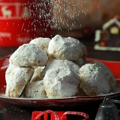 Greek Christmas Butter Cookies @Culinary Flavors