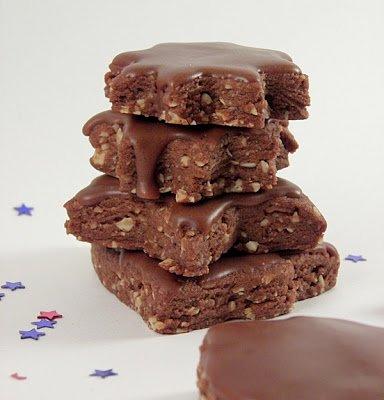 Chocolate Kourabiedes @Culinary Flavors