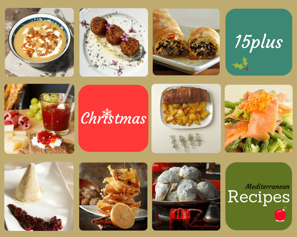 15+ Christmas recipes from the Mediterranean Cuisine | Kicking Back the Pebbles