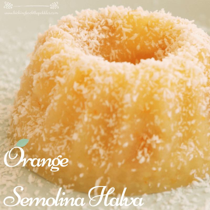 Orange Semolina Halva – Χαλβάς Πορτοκάλι