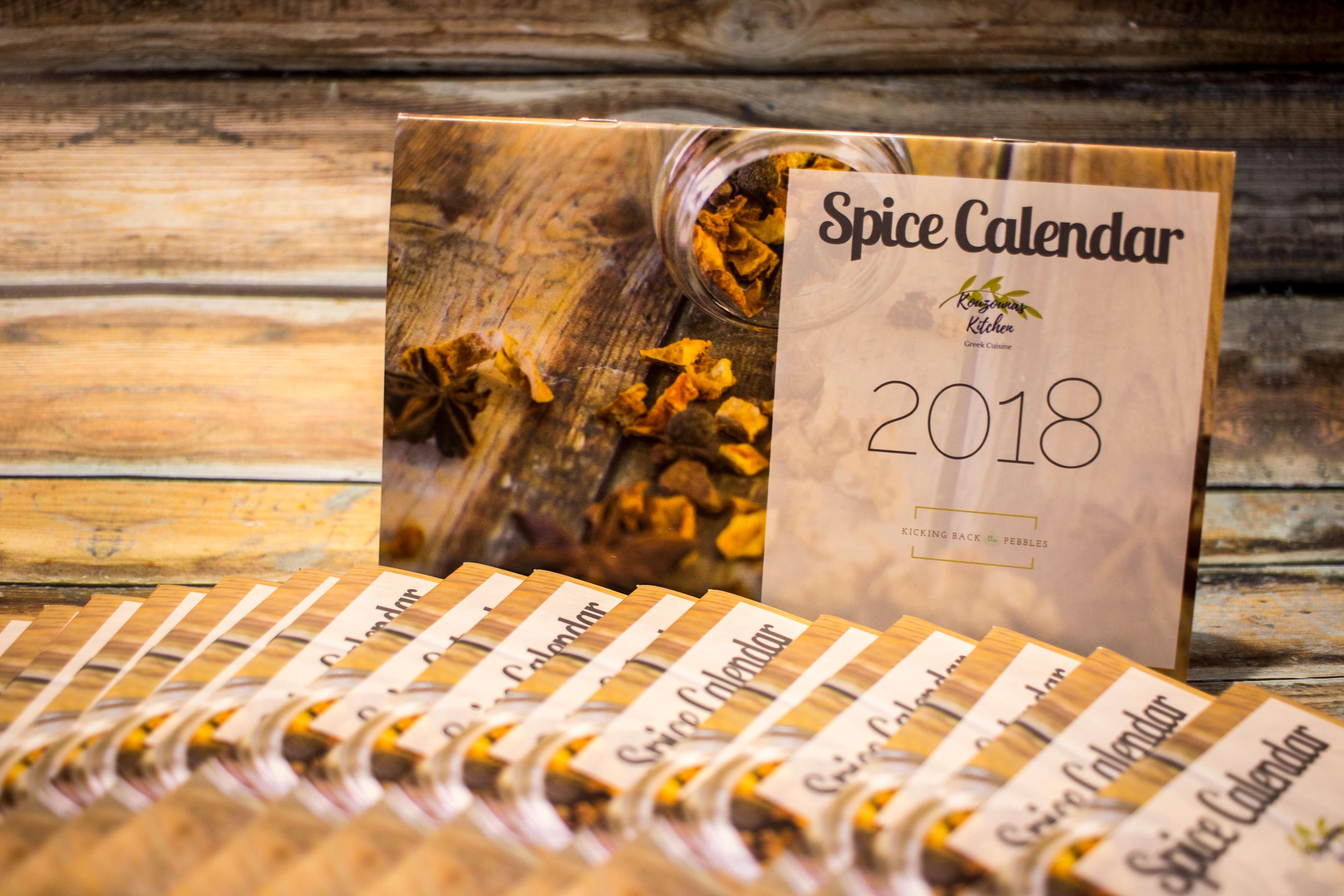 The 2018 Spice Calendar