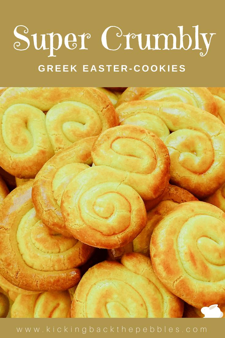 Greek Easter Cookies   Kicking Back the Pebbles