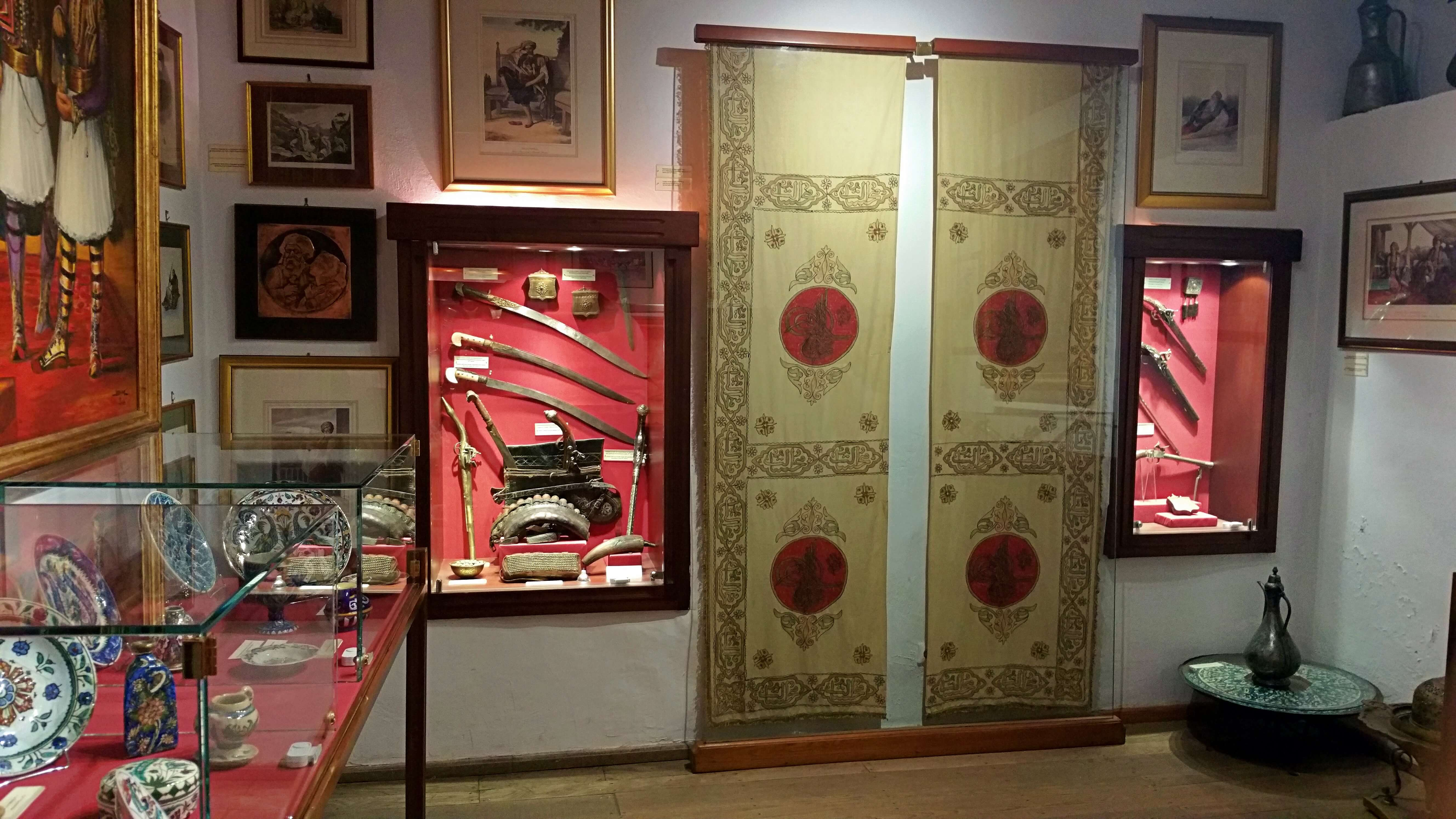 The Curtain of Sultan Mahmud Room - Ali Pasha Museum, Ioannina, Greece | Kicking Back the Pebbles