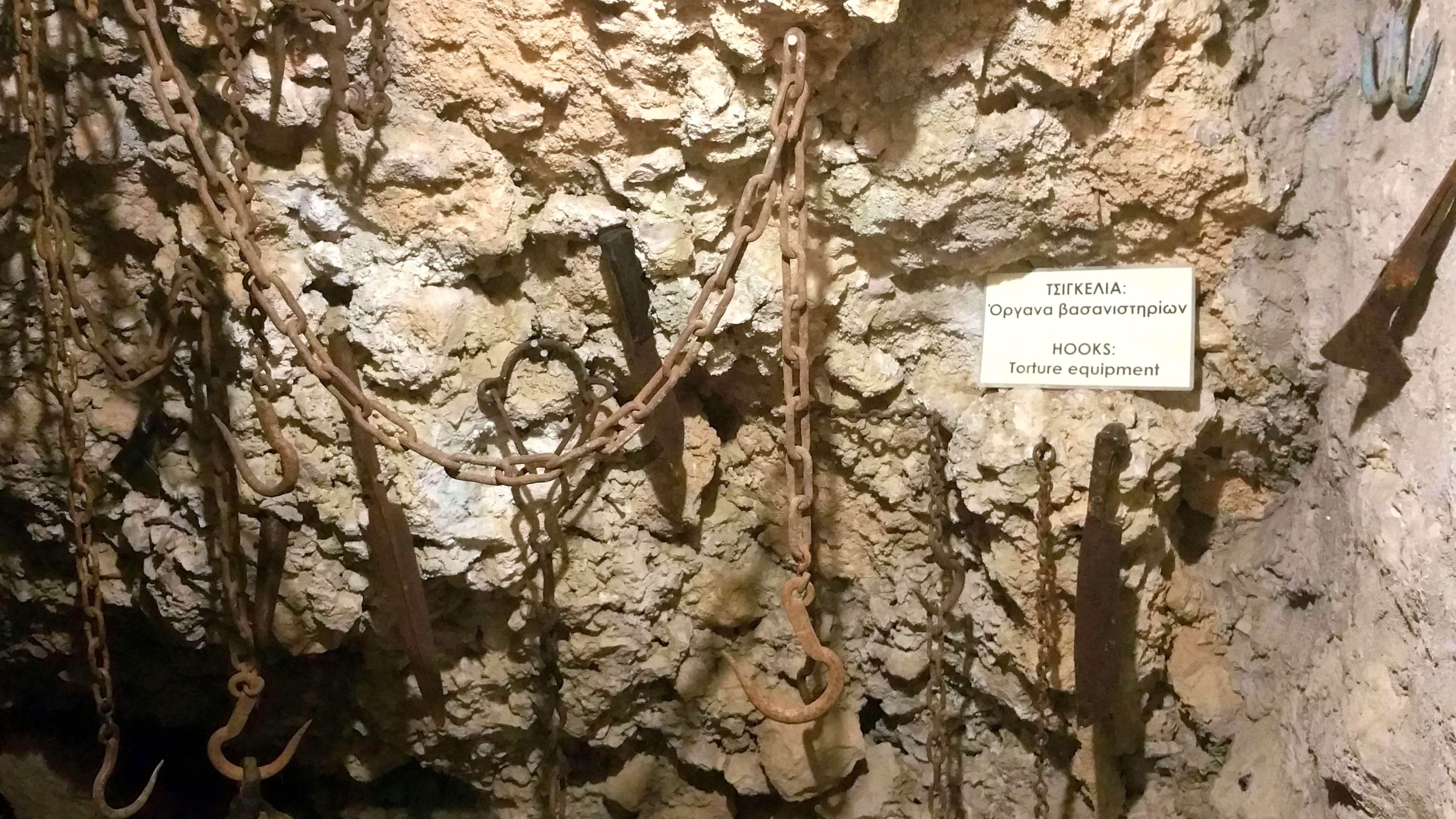 Torture Chamber - Ali Pasha Museum, Ioannina, Greece | Kicking Back the Pebbles