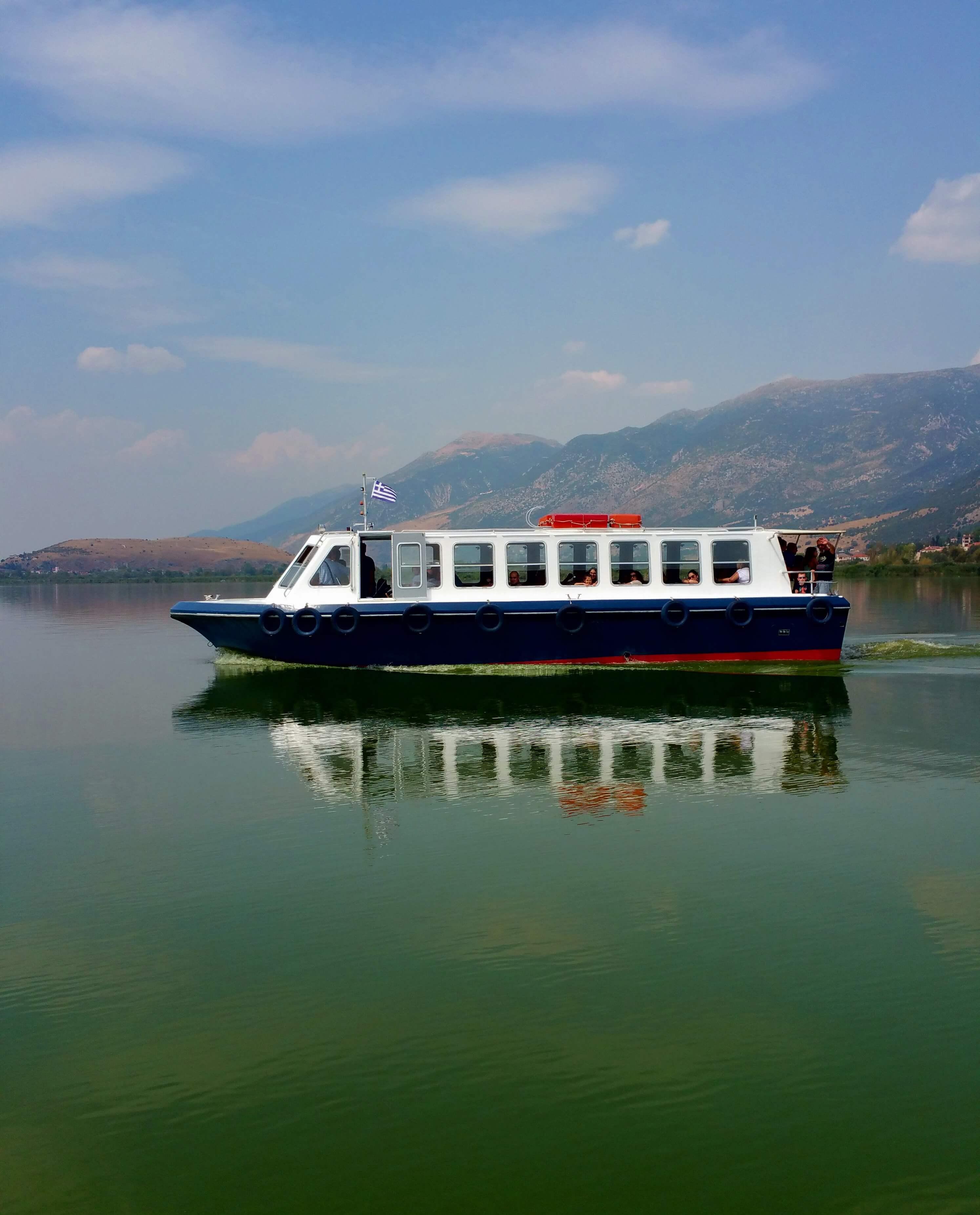 Lake Pamvotis, Ioannina, Greece | Kicking Back the Pebbles