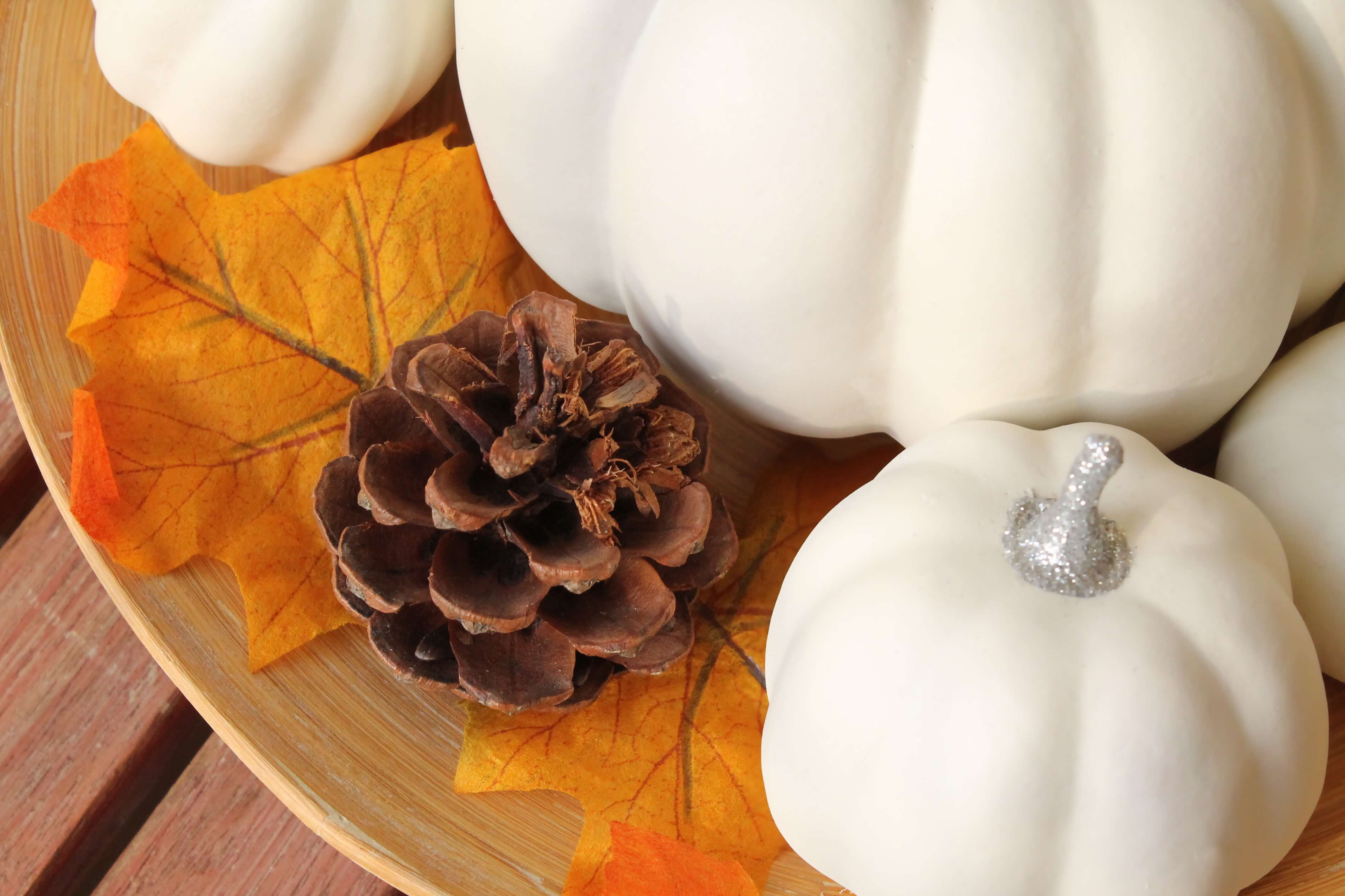 Quick & easy craft: decorative pumpkins