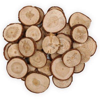 Pine tree craft wood slices | Jumbo