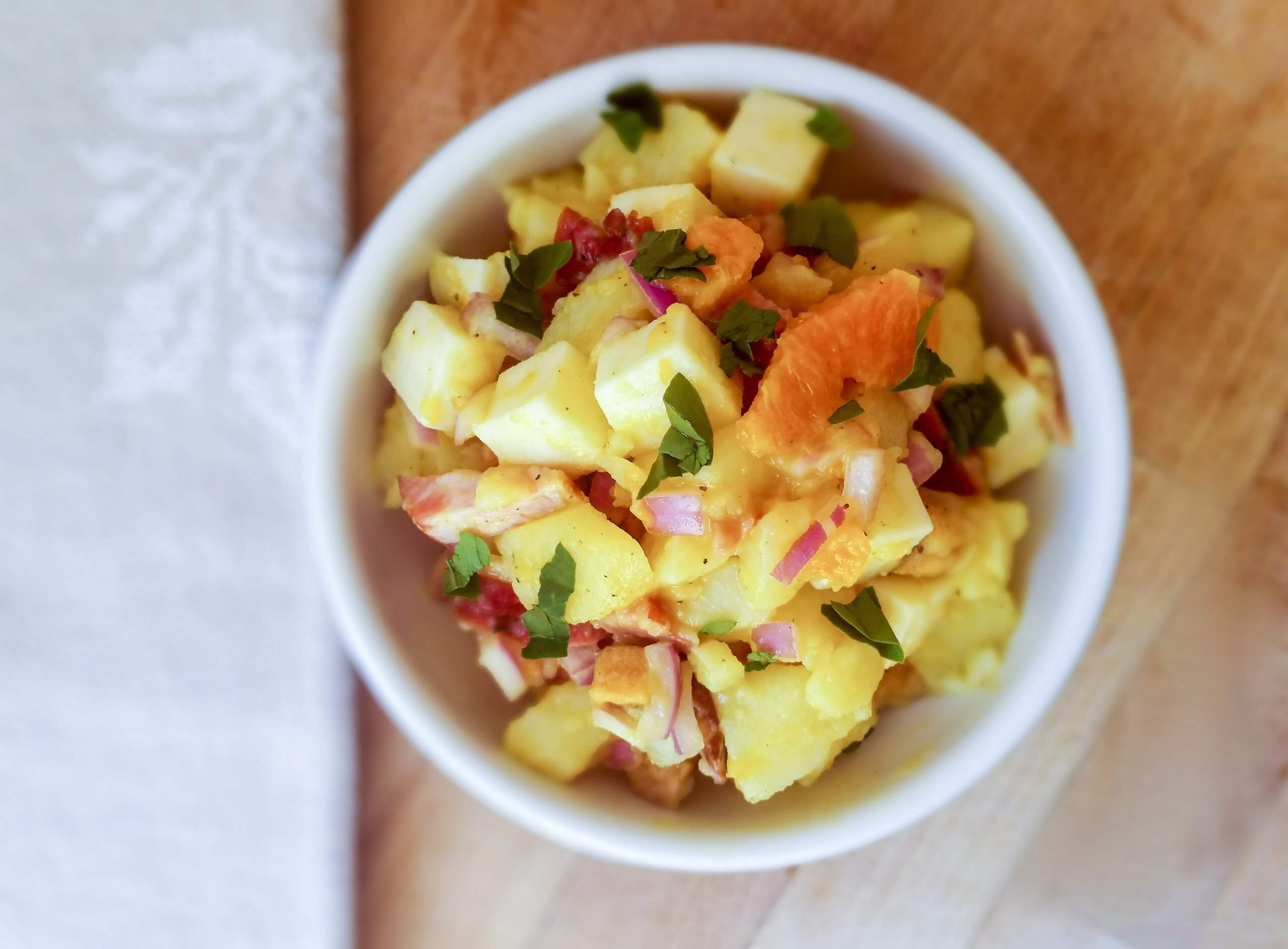 Laconian Salad | Kicking Back the Pebbles